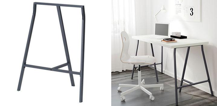IKEAの鉄脚LERBERG