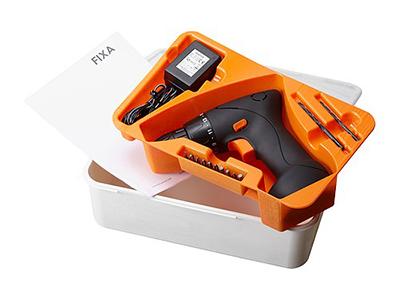 IKEAの電動ドライバー - FIXA