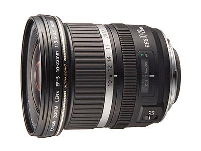 Canon EF-S10-22mm F3.5-4.5 USM - EOS Kiss x7におすすめの広角レンズ