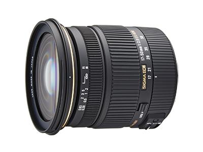 SIGMA 17-50mm F2.8 EX DC OS HSM - EOS Kiss x7におすすめの広角レンズ