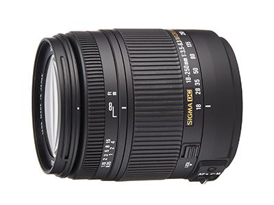 SIGMA 18-250mm F3.5-6.3 DC MACRO OS HSM - EOS Kiss x7におすすめの広角レンズ