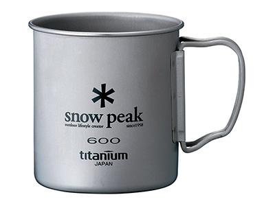 スノーピーク チタンシングルマグ600