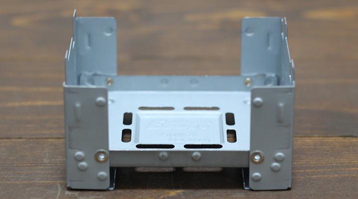 底の広いクッカーを使う - エスビット ポケットストーブ