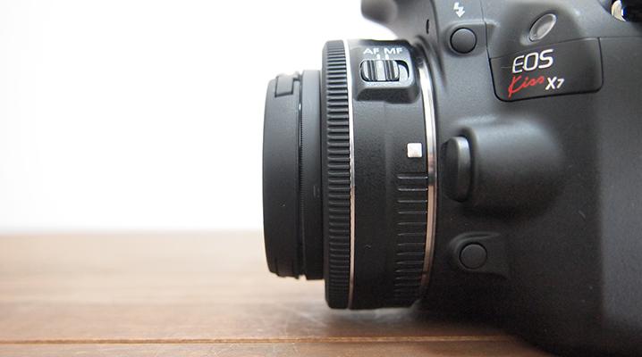 コンパクトなサイズ - EF-S24mmF2.8STM