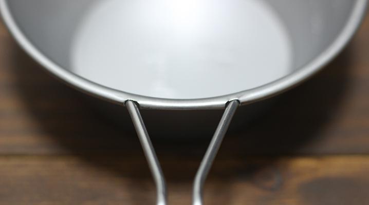 持ち手のつなぎ目 - スノーピークステンレス製シェラカップ