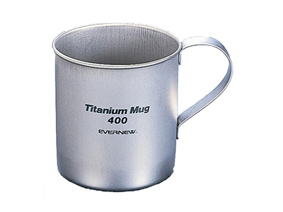 エバニュー チタンマグカップ 400