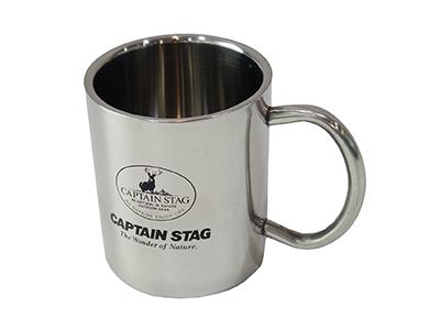 CAPTAIN STAG パラオ ダブルステンマグカップ