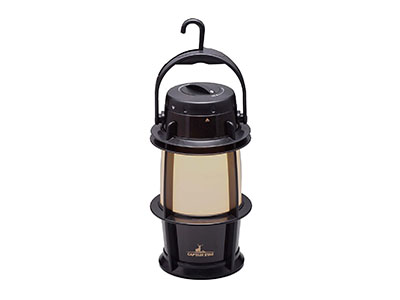 キャプテンスタッグ ゴッド 暖色LEDランタン